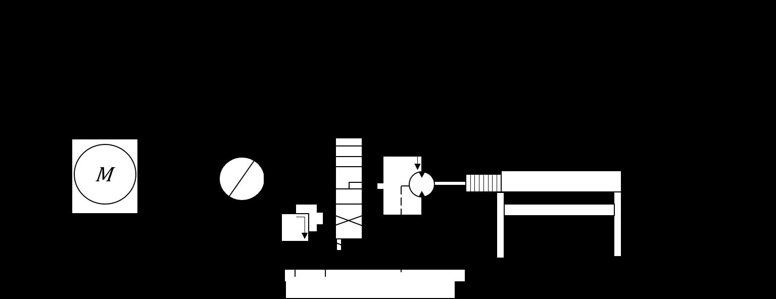 Beispielzeichnung Hydraulikmotor